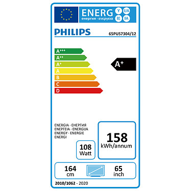 Acheter Philips 65PUS7304