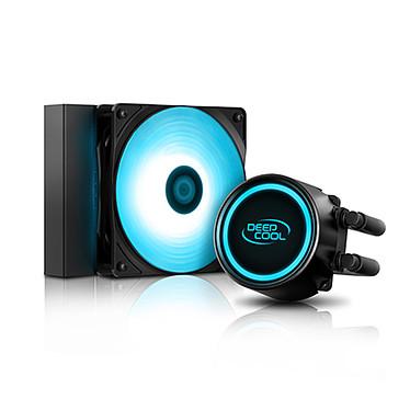 Deepcool Gammax L120T (Azul) Kit Watercooling para procesador con iluminación LED azul
