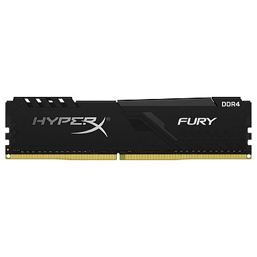 HyperX Fury 8 Go DDR4 2666 MHz CL16 RAM DDR4 PC4-21300 - HX426C16FB3/8