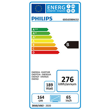 Philips 65OLED804 pas cher