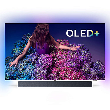 """Philips 55OLED934 Téléviseur OLED 4K UHD 55"""" (140 cm) 16/9 - 3840 x 2160 pixels - Ultra HD 2160p - HDR - Wi-Fi - Bluetooth - Android TV - Google Assistant - Bowers & Wilkins / Dolby Atmos - 5000 Hz"""