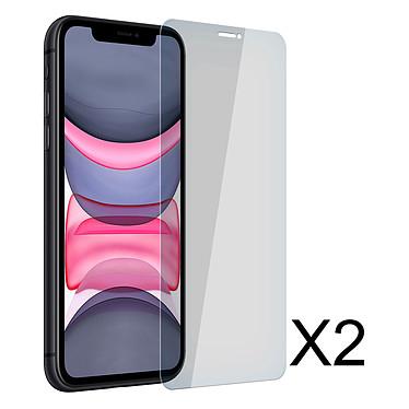 Akashi Película de Cristal templado Premium iPhone 11 Set de 2 láminas de protección de pantalla de vidrio templado para Apple iPhone 11