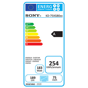Acheter Sony KD-75XG8096