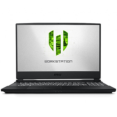"MSI WE65 9TJ-008FR Intel Core i7-9750H 16 Go SSD 512 Go 15.6"" LED Full HD NVIDIA Quadro T2000 4 Go Wi-Fi AC/Bluetooth Webcam Windows 10 Professionnel 64 bits"