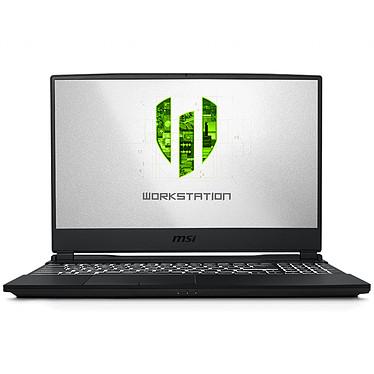 "MSI WE65 9TI-009FR Intel Core i7-9750H 16 Go SSD 512 Go 15.6"" LED Full HD NVIDIA Quadro T1000 4 Go Wi-Fi AC/Bluetooth Webcam Windows 10 Professionnel 64 bits"