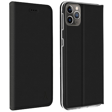 Akashi Etui Folio Porte Carte Noir Apple iPhone 11 Pro Etui folio avec porte carte pour Apple iPhone 11 Pro