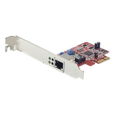 Dexlan Carte réseau Gigabit Ethernet Carte réseau PCI Express Gigabit LAN (10/100/1000 Mbps) (Chipset Realtek)
