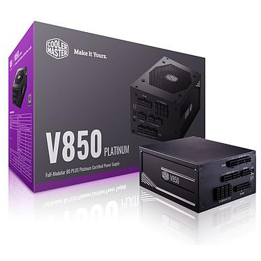 Cooler Master V850 80PLUS Platinum Fuente de alimentación 100% modular 850W ATX12V - 80PLUS Platinum