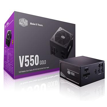 Cooler Master V550 80PLUS Gold Alimentation 100% modulaire 550W ATX12V - 80PLUS Gold