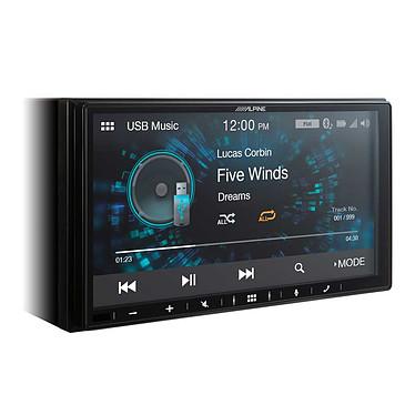 Alpine iLX-W650BT Système multimédia Apple CarPlay, Android Auto avec écran tactile 7 pouces, port USB