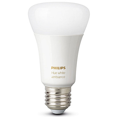 Philips Hue White Ambiance E27 Bluetooth Ampoule E27 - 9 Watts