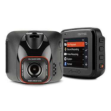 """Mio MiVue C570 Caméra de conduite pour automobile - Full HD - champ de vision 150° - écran LCD 2"""" - puce GPS intégrée"""