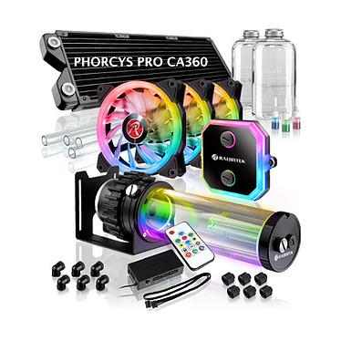 Raijintek Phorcys Pro CA360 Kit de watercooling à rétroéclairage RGB pour processeur pour socket Intel et AMD
