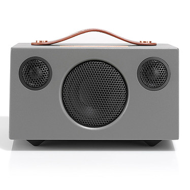 Audio Pro Addon T3 Gris Altavoz portátil Bluetooth 4.0, entrada AUX, puerto de carga USB, batería incorporada
