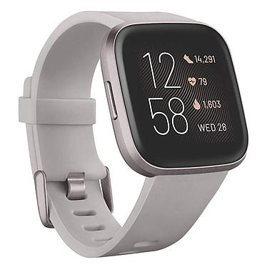 Fitbit Versa 2 Gris Smartwatch GPS conectado con sensor de corazón, pantalla táctil a color, control por voz, Bluetooth compatible con iOS, Android