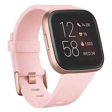 Fitbit Versa 2 Rosa Smartwatch GPS conectado con sensor de corazón, pantalla táctil a color, control por voz, Bluetooth compatible con iOS, Android