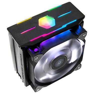 Zalman CNPS10X Optima II (Negro) Ventilador LED PWM RGB para procesador (para SOCKET Intel 2066/2011-3/2011/1150/1151/1155/1156/1366 y AMD AM4/AM3/AM3/AM3 /FM2 /FM2)