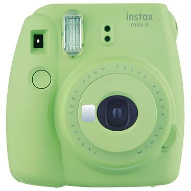 Fujifilm instax mini 9 Vert Appareil photo instantané avec flash et miroir selfie
