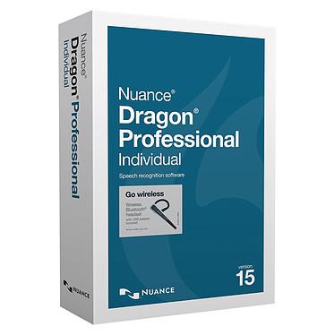 Nuance Dragon Professional Individual v15 Wireless Logiciel à reconnaissance vocale (Windows) avec casque-micro Bluetooth
