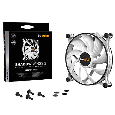 be quiet! Shadow Wings 2 White 140 mm PWM a bajo precio
