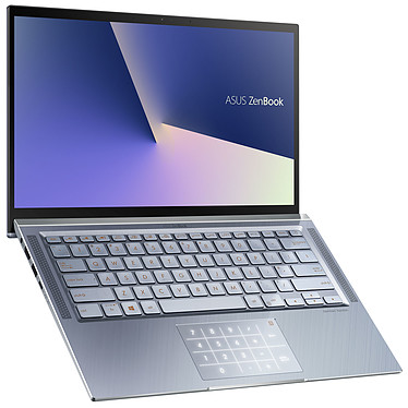 "ASUS Zenbook 14 UX431FN-AM043T avec NumPad Intel Core i7-8565U 16 Go SSD 1 To (2x 512 Go) 14"" LED Full HD NVIDIA GeForce MX150 Wi-Fi AC/Bluetooth Webcam Windows 10 Famille 64 bits"