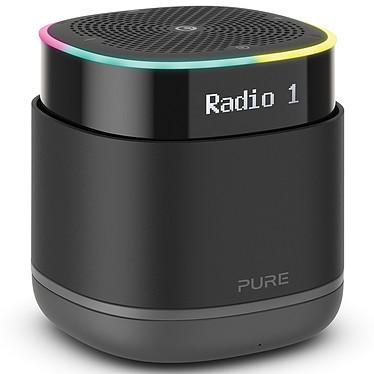 Pure StreamR Negro Altavoz portátil Bluetooth 4.2 - Sintonizador FM/DAB - Duración de la batería 15 horas - Pantalla LCD - Entrada AUX