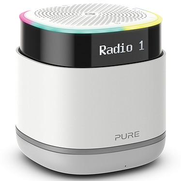Pure StreamR Blanc Enceinte portable Bluetooth 4.2 - Tuner FM/DAB+ - Autonomie 15h - Ecran LCD - Entrée AUX