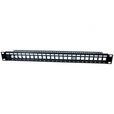 Panel Keystone Dexlan 24 puertos - longitud 19'' - altura 1U - STP