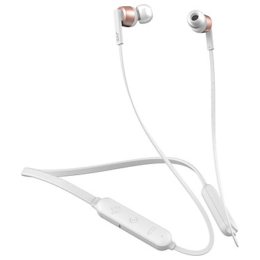 JVC HA-FX45BT Blanc Ecouteurs intra-auriculaires sans fil IPX4 - Bluetooth 4.2 - Autonomie 8 heures - Télécommande/Micro