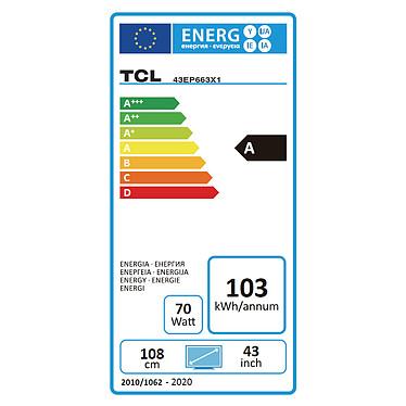TCL 43EP663 pas cher