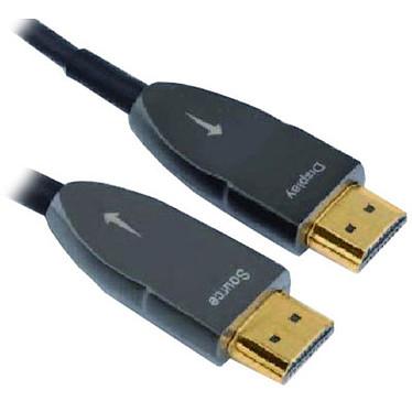 Real Cable HD-OPTIC (20m) Câble optique HDMI 2.0 4K 60 Hz - 20 mètres