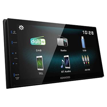 "Kenwood DMX125DAB Autoradio MP3 avec écran LCD 6.8"" Android USB mirorring ready avec Radio DAB+ intégré et Bluetooth"