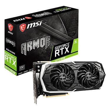 MSI GeForce RTX 2070 SUPER ARMOR OC 8 GB GDDR6 - HDMI/Tri DisplayPort - PCI Express (NVIDIA GeForce RTX 2070 SUPER)