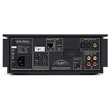 Avis Naim Uniti Atom + WD Elements Portable 4 To Noir (USB 3.0)