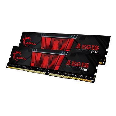 G.Skill Aegis 32 Go (2 x 16 Go) DDR4 3200 MHz CL16 Kit Dual Channel 2 barrettes de RAM DDR4 PC4-25600 - F4-3200C16D-32GIS