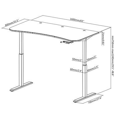 OPLITE Supreme Desk pas cher