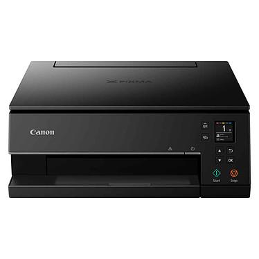 Canon PIXMA TS6350 Noir Imprimante Multifonction jet d'encre couleur 3-en-1 (USB / Cloud / Wi-Fi)