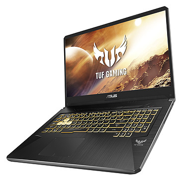 "ASUS TUF765DU-H7086T AMD Ryzen 7 3750H 16 Go SSD 256 Go + HDD 1 To 17.3"" LED Full HD 120 Hz NVIDIA GeForce GTX 1660 Ti 6 Go Wi-Fi AC/Bluetooth Webcam Windows 10 Famille 64 bits"
