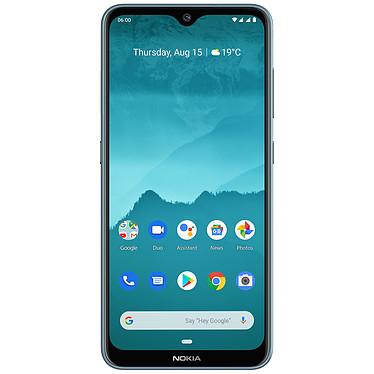 "Nokia 6.2 Bleu Glacial (4 Go / 64 Go) Smartphone 4G-LTE Advanced Dual SIM - Snapdragon 636 8-core 1.8 GHz - RAM 4 Go - Ecran tactile 6.3"" 1080 x 2340 - 64 Go - Bluetooth 5.0 - 3500 mAh - Android 9.0"