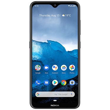 "Nokia 6.2 Noir (4 Go / 64 Go) Smartphone 4G-LTE Advanced Dual SIM - Snapdragon 636 8-core 1.8 GHz - RAM 4 Go - Ecran tactile 6.3"" 1080 x 2340 - 64 Go - Bluetooth 5.0 - 3500 mAh - Android 9.0"