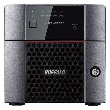Buffalo TeraStation TS3210DN 8 To (2 x 4 To) Serveur NAS 2 baies avec 2 disques durs NAS 4 To