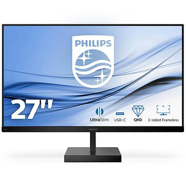 """Philips 27"""" LED - 276C8 2560 x 1440 pixels - 4 ms (gris à gris) - Format large 16/9 - Dalle IPS - 75 Hz - HDR - HDMI/USB-C - Noir"""
