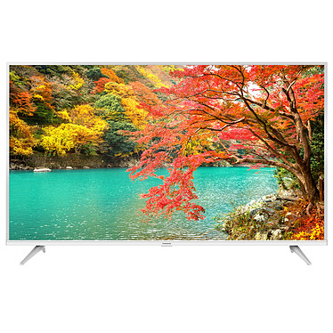 "Thomson 55UE6430W Téléviseur LED 4K Ultra HD 55"" (140 cm) 16/9 - 3840 x 2160 pixels - HDR - Android TV - Wi-Fi - Bluetooth - 1200 Hz - Son 2.0 16W - Blanc"
