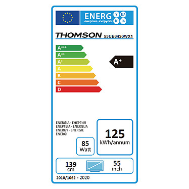 Thomson 55UE6430W pas cher