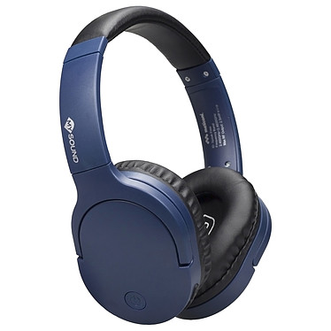 My Sound Speak Free Bleu Casque circum-aural sans fil Bluetooth 4.2 - Autonomie 8h - Commandes/Micro