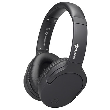 My Sound Speak Free Noir Casque circum-aural sans fil Bluetooth 4.2 - Autonomie 8h - Commandes/Micro