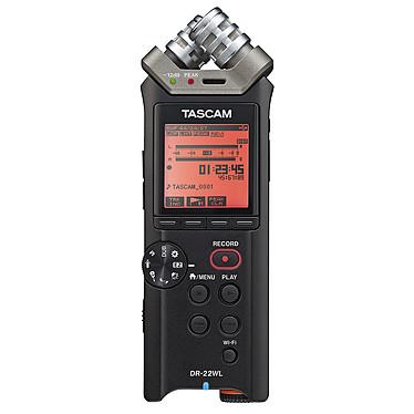 Tascam DR-22WL Enregistreur de poche stéréo - Hi-Res Audio - Microphones X/Y - Wi-Fi - USB - Carte Micro SD 4 Go