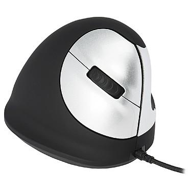 HE Wired Vertical Mouse (pour droitier) Souris filaire ergonomique - droitier - capteur laser 3400 dpi - 5 boutons - verticale