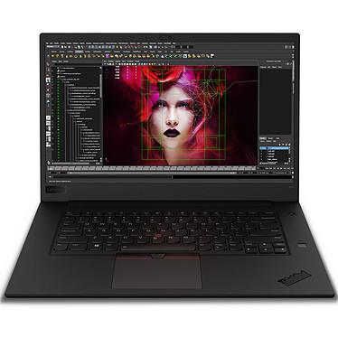 "Lenovo ThinkPad P1 (20MD000KFR) Intel Core i7-8850H 16 Go SSD 256 Go 15.6"" LED Full HD NVIDIA Quadro P2000 4 Go Wi-Fi AC/Bluetooth Webcam Windows 10 Professionnel 64 bits"