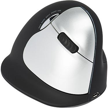 HE Wireless Vertical Mouse Large (pour droitier) Souris sans fil ergonomique - droitier - capteur laser 2500 dpi - 5 boutons - verticale